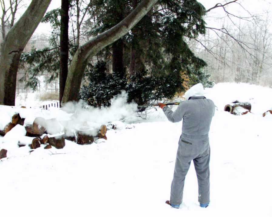 Firing the Icegun